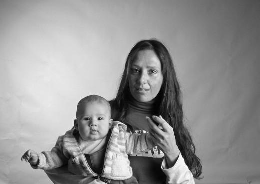 portraits: Patrizia e Elia - ritratti: Patrizia e Elia