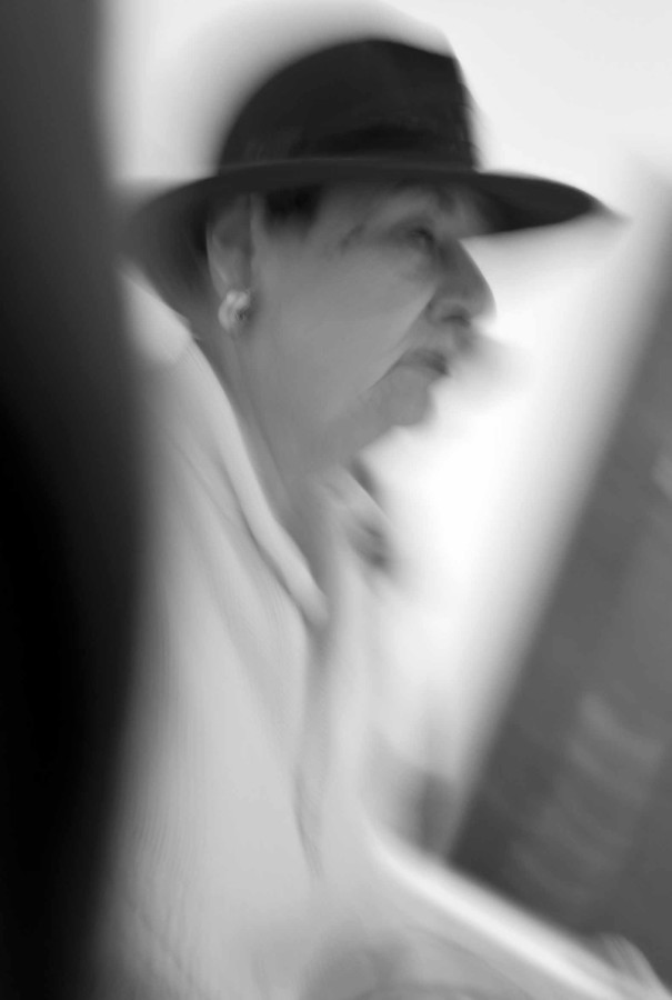 portraits: the lady  with a hat -   ritratti: donna con cappello