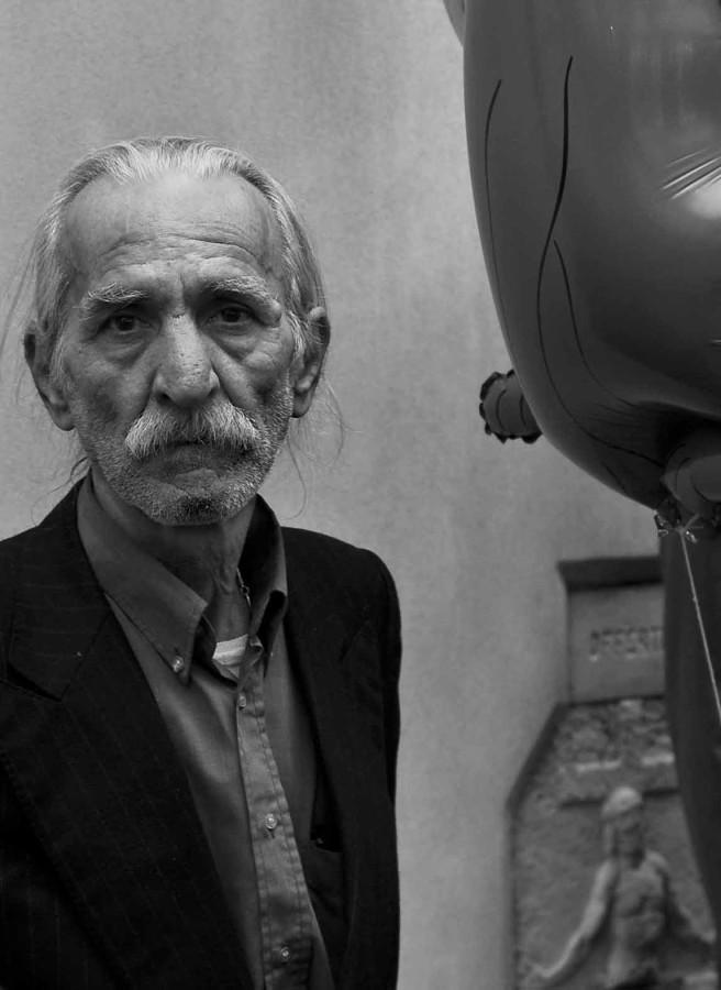 the balloons men - ritratti: l'uomo dei palloncini